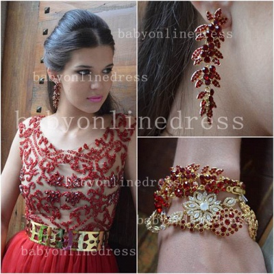 Evening Sexy Red Prom Dresses New Fashion 2020 Dresses Cap Sleeves Vestidos Female Formal Tulle Bead Dresses_2