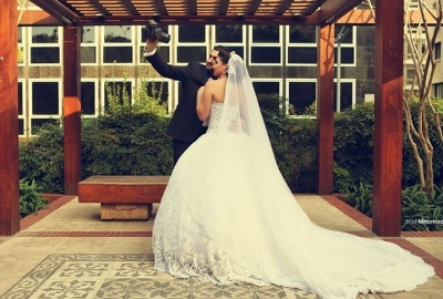 Delicate Sweetheart Lace Tulle Wedding Dress Ball Gown Beadings_2