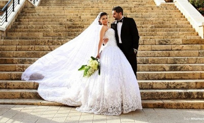 Delicate Sweetheart Lace Tulle Wedding Dress Ball Gown Beadings_4
