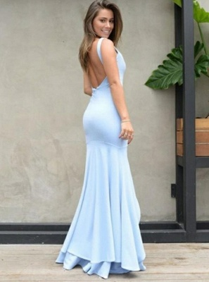 Elegant Sweetheart Mermaid 2020 Evening Dress | Prom Party Dress With Slit On Sale_3