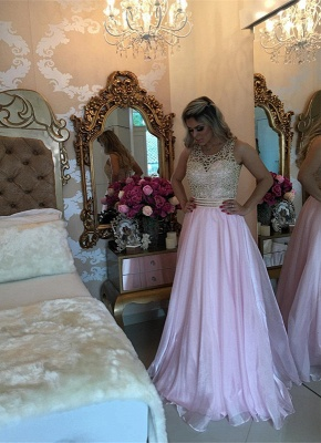 Gorgeous Sleeve Long 2020 Prom Dress With Beads BA3465_1