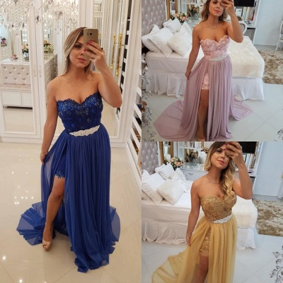 Stunning Sweetheart 2020 Evening Dress | Long Prom Party Dress With Skirt BA9868_5