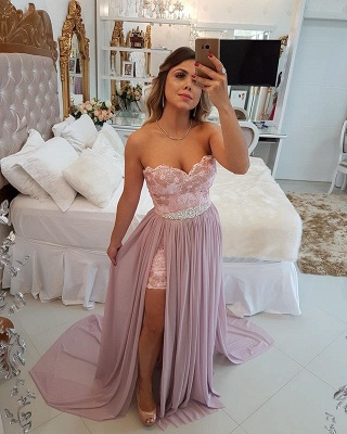 Stunning Sweetheart 2020 Evening Dress | Long Prom Party Dress With Skirt BA9868_4