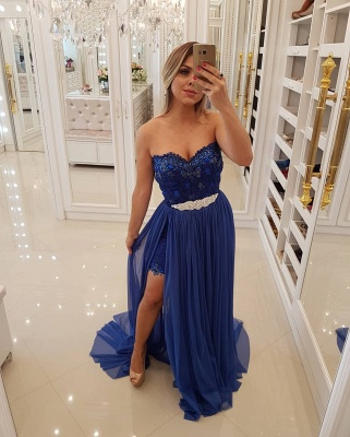 Stunning Sweetheart 2020 Evening Dress | Long Prom Party Dress With Skirt BA9868_3