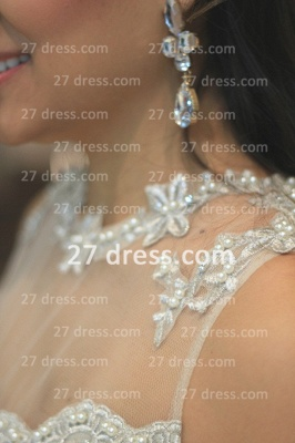 Pearl Short Lace Prom Dresses 2020 New Arrival Lindo Vestido Party Gowns See Through Sleeveless Green_3