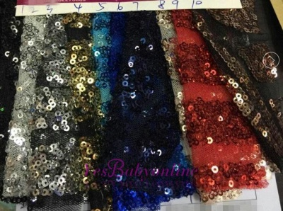 Sexy Red V-Neck Sequins Prom Dresses 2020 Long Sleeve Mermaid BK0_5