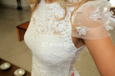 Prom De Short White Lace Cocktail Dress with New Arrival Elegant Gowns Vestidos Fiesta Sleeves_4