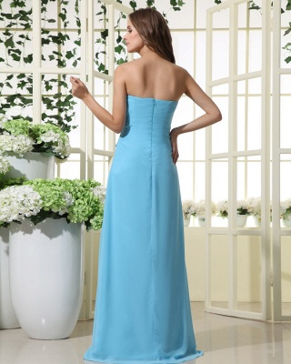Elegant Strapless 2020 Bridesmaid Dress | Mermaid Chiffon Maid Of Honor Bridesmaid Dress_5