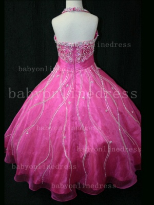 Teens Glitz Pageant Dresses for Girls with Inexpensive Formal Gowns 2020 Sweetheart Beaded Crystal_5