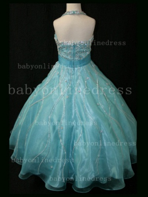 Teens Glitz Pageant Dresses for Girls with Inexpensive Formal Gowns 2020 Sweetheart Beaded Crystal_3