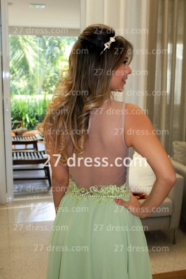 Vestidos Formales Short Lace Prom Dresses 2020 New Arrival Cocktail Gowns Elegant Nude Back Green De Fiesta_3