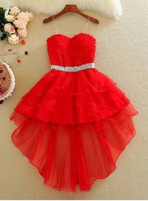 Lovely Sweetheart 2020 Homecoming Dress Short With lace and Beads_2