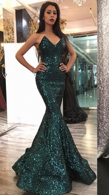 Sexy Sweetheart Mermaid 2020 Prom Dress With Sequins_1