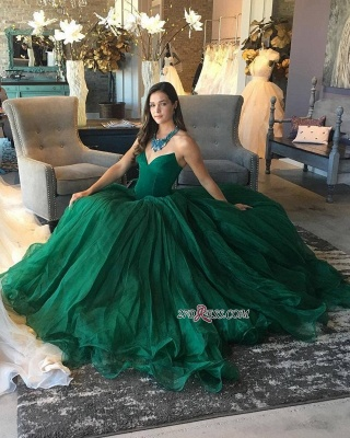 Princess Sweetheart 2020 Prom Dresses With Tulle On Sale_2