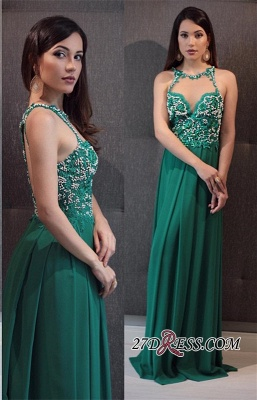 Green prom dress, 2020 lace evening gowns_2