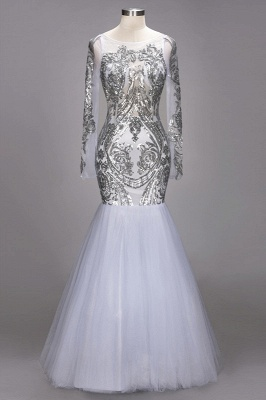Long Sleeve 2020 Prom Dress | Sequins Evening Gown On Sale_1