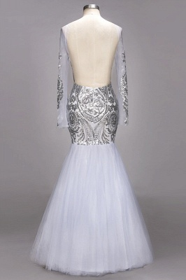 Long Sleeve 2020 Prom Dress | Sequins Evening Gown On Sale_3