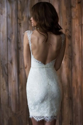 Glamorous Cap Sleeve Lace 2020 Wedding Dress Tulle Detachable_4