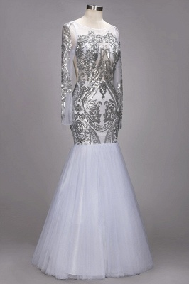 Long Sleeve 2020 Prom Dress | Sequins Evening Gown On Sale_2