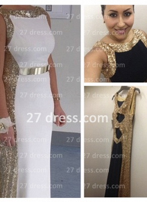 Sleeveless Long Sequin Prom Dress with 2020 Sexy Real Scoop Neckline Evening Gowns Online Custom Made_1