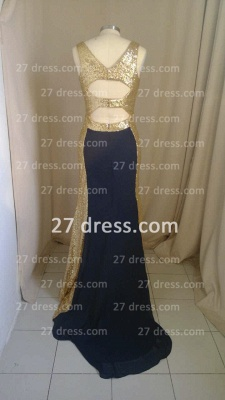 Sleeveless Long Sequin Prom Dress with 2020 Sexy Real Scoop Neckline Evening Gowns Online Custom Made_3