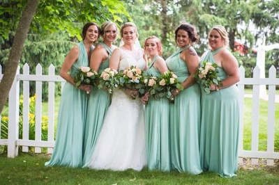 Convertible Lightsome Floor-Length A-line Bridesmaid Dresses_3
